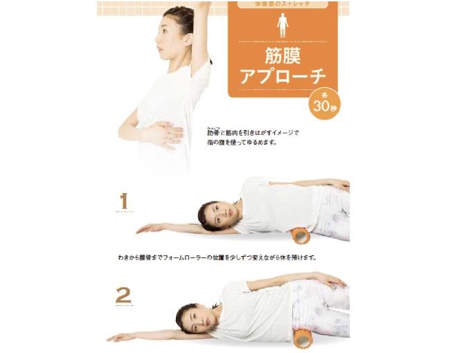わきから腰骨までの筋膜アプローチ