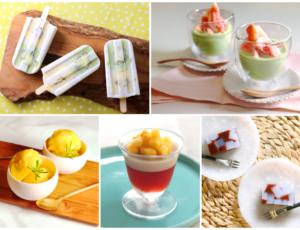 コロナ太りも怖くない! ギルトフリーでおいしい♡ おうちで簡単に作る「夏の糖質オフスイーツ」5選