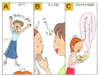 【心理テスト】今日はあなたの誕生日。いちばん最初に「おめでとう!」と言ってきたのは?
