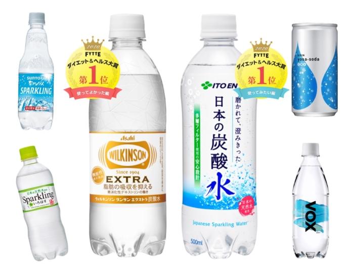 ダイエットや健康に役立てたい! 夏にぴったりなさわやか無糖炭酸水BEST6
