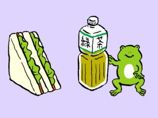 「レタスサンドイッチ+緑茶」でむくみのないすっきりボディに! #コンビニちょい足し薬膳