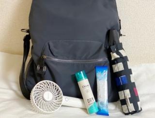 汗をかいてもニオわせない! 美容師さんがバッグに仕込む、選りすぐり夏アイテム