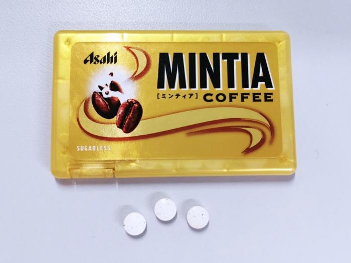 「ミンティア コーヒー」(アサヒグループ食品)