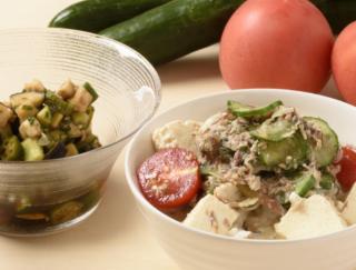 [夏野菜の簡単レシピ]冷や汁やマリネなど、冷製レシピ3選