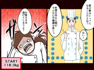 【漫画レポート】118kgの大きめ女子を脱出! 50kg台を叶えた食事のコントロール術