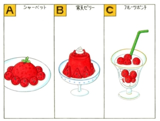 【心理テスト】スイカを使ってデザートを作ります。あなたが作りたいのはどれ?