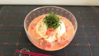 のど越し爽やか!トマト缶とツナの無限冷製そうめんレシピ2選