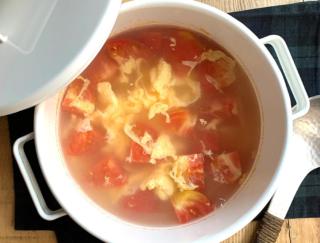 約10分で完成!朝食に合うトマト入り卵スープとアレンジレシピ