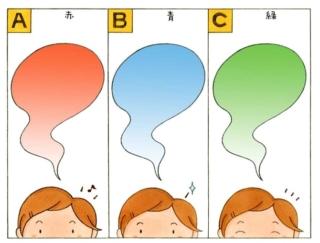 【心理テスト】あなたの今日の気分は、次の3つのうちどれ?