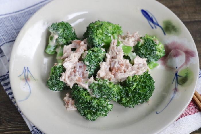 ブロッコリーで腸活! 梅の酸味がさわやかでクセになる味「ツナとブロッコリーの梅マヨ」