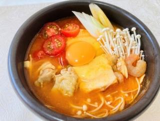 さわやかな酸味と辛味で暑さを乗り切る!「ミニトマトのスンドゥブ鍋」#今日の作り置き