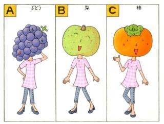 【心理テスト】あなたを秋の旬のくだもので表すとしたら、次のうちどれ?