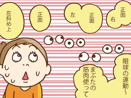目の運動画像