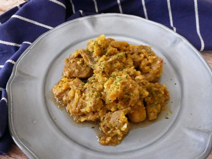 下味冷凍もできる♪ ラム肉やわらか「ラム肉と玉ねぎのカレー炒め」#今日の作り置き