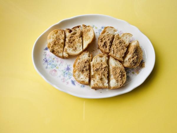 発芽大豆きな粉で作った「きな粉ブレッド」