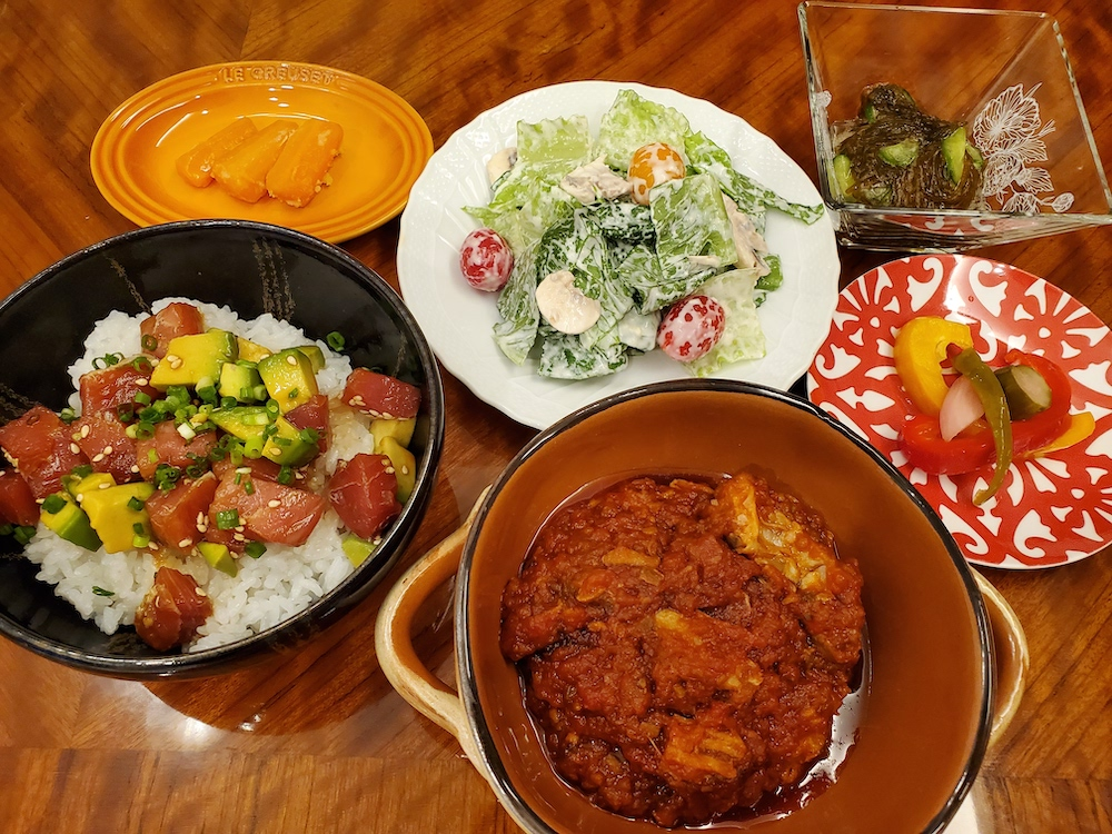 鶏もも肉と野菜の煮込み