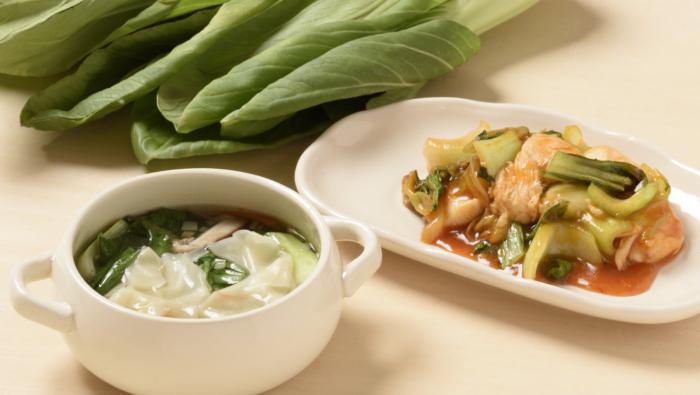 [チンゲン菜のレシピ]簡単&おいしい!スープと炒め物2選