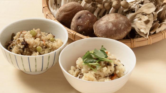 椎茸やしめじのうまみを堪能!きのこの炊き込み&混ぜご飯レシピ