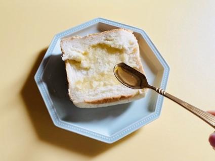 ビートオリゴ糖をつけたパン