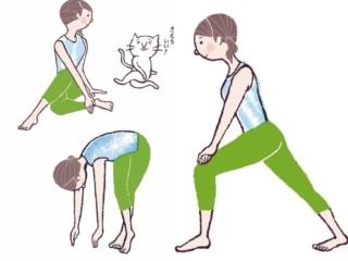 運動が苦手でもOK! 疲れた脚をケアしながら、5分でできる美脚ストレッチ