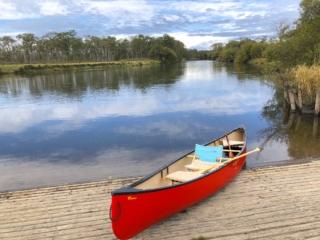 釧路湿原、釧路川のカヌーの体験