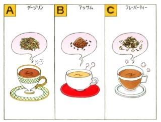 【心理テスト】次の3つの紅茶のうち、あなたが好きなのはどれ?