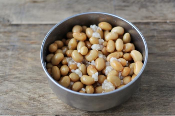 大豆の塩麹漬け