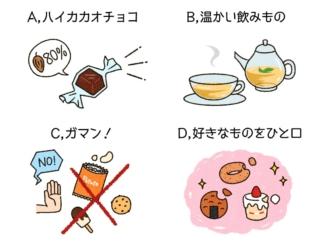 【ダイエットチョイス!】ご飯のあとにひと口だけ何か食べたいというときにオススメの行動は?~EICO式ダイエットのコツ(3)~