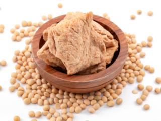 大豆と大豆ミート