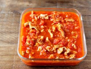 そのまま食べても、アレンジしてもOK!「豚こまトマト」 #今日の作り置き