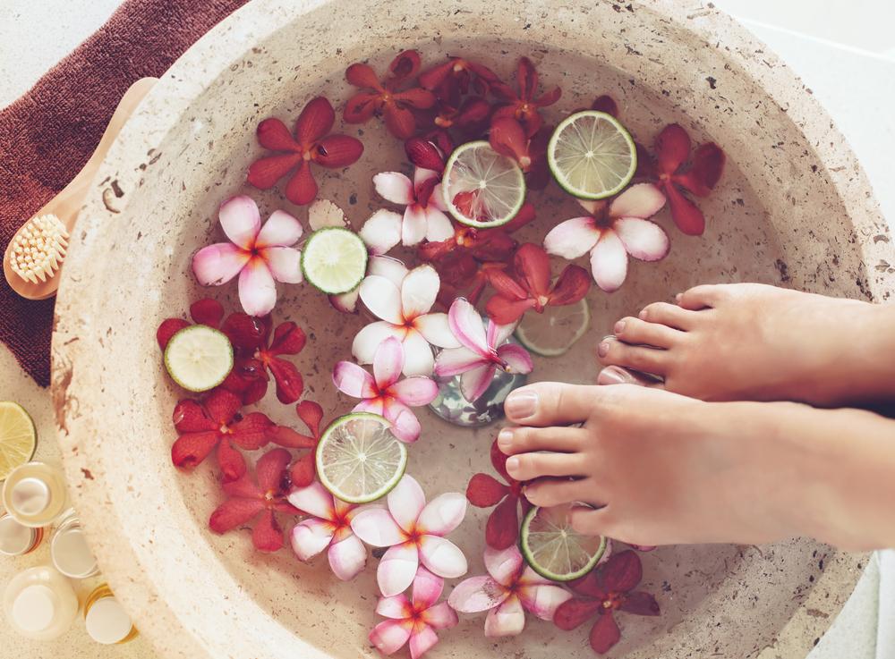足浴のイメージ画像