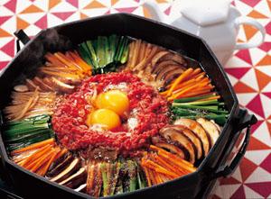 韓国風すき焼き鍋画像