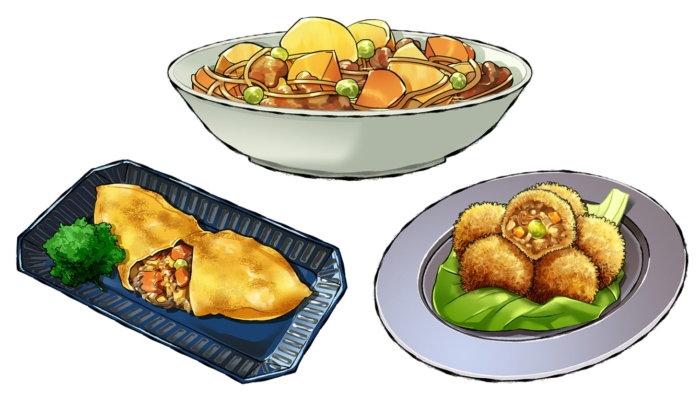 基本の肉じゃがとリメイクレシピ!簡単、オムレツやコロッケ