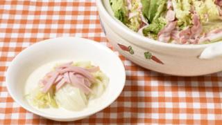[白菜丸ごとor半分使い切りレシピ]絶品豚肉鍋とクリーム煮