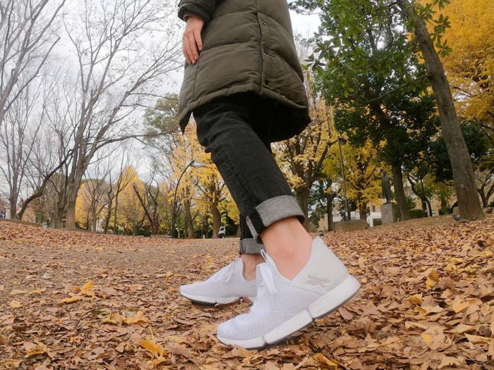疲れないからどこまでも歩ける! リーボックのウォーキングシューズ「デイリーフィット」 #Omezaトーク