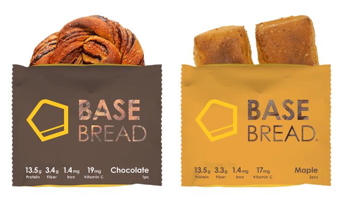 「BASE BREAD○R(チョコレート、メープル)」(BASE FOOD)