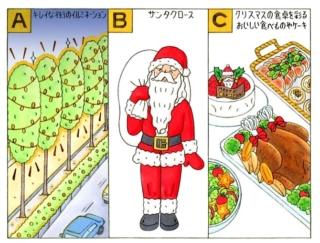 【心理テスト】クリスマスと聞いてあなたが思い浮かべるのは?