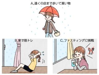 【ダイエットチョイス!】雨の日にぜひやりたいダイエットは?~EICO式ダイエットのコツ~