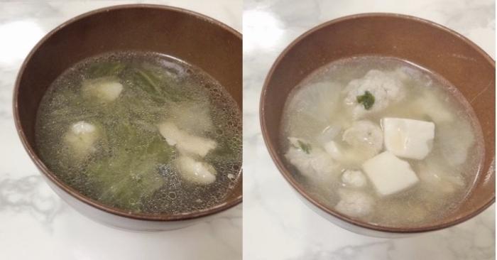 スープ2品