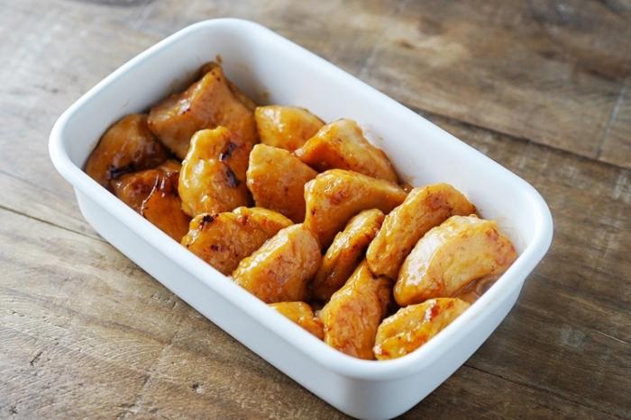 冷めてもおいしい! 食欲そそる「鶏むね肉のバターじょうゆソテー」 #今日の作り置き