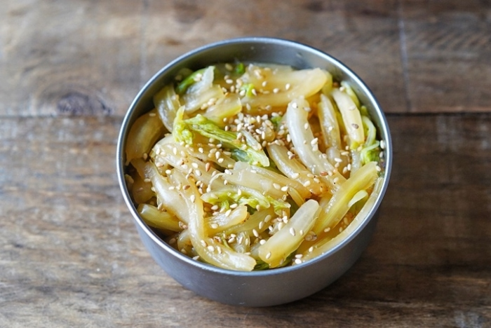 にんにく&しょうがの最強風味がたまらない! 「白菜のスタミナ漬け」 #今日の作り置き