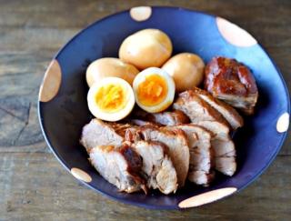 豪華に見えるけど、とってもカンタン♪「煮豚と煮卵」 #今日の作り置き