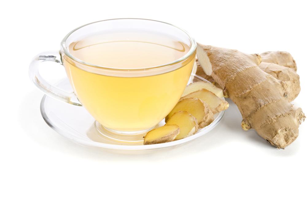 生姜と紅茶の画像