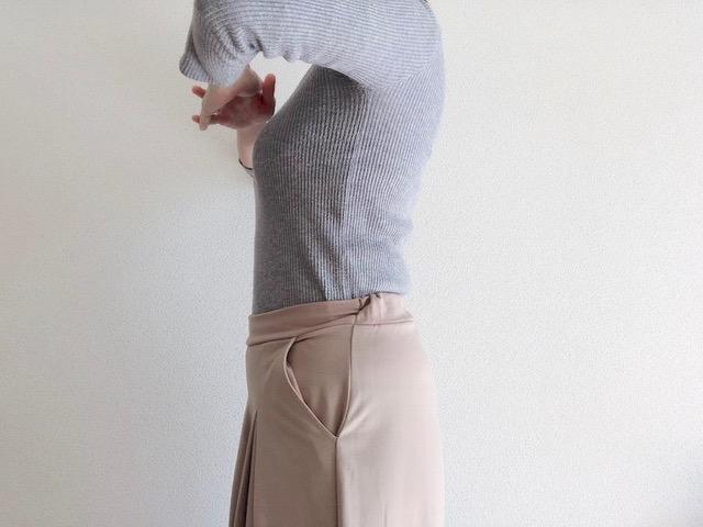 ダイソーのはらまきを服の下に着用