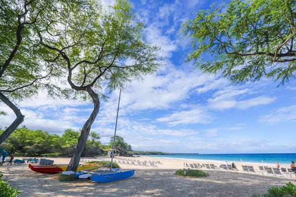 ハワイ島屈指のビーチ「ハプナ」