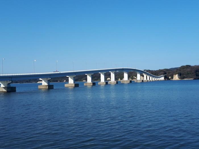 能登島(6)の橋と海
