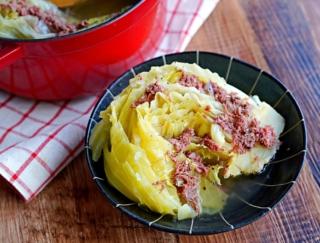 煮込むだけでおいしくキャベツを大量消費!「キャベツのコンビーフ煮」 #今日の作り置き