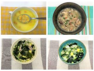 即席スープに具材を足したらリッチな腸活スープになった♪ #Omezaトーク