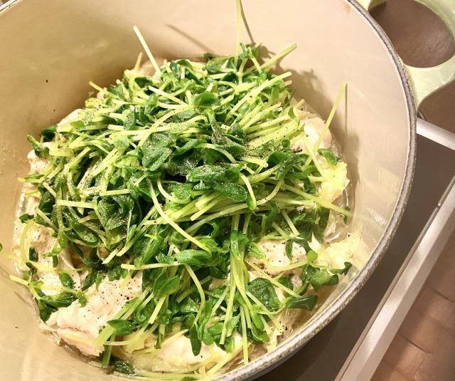 レモン鶏鍋