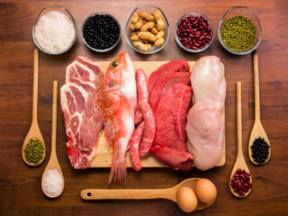 たんぱく質が豊富な食材